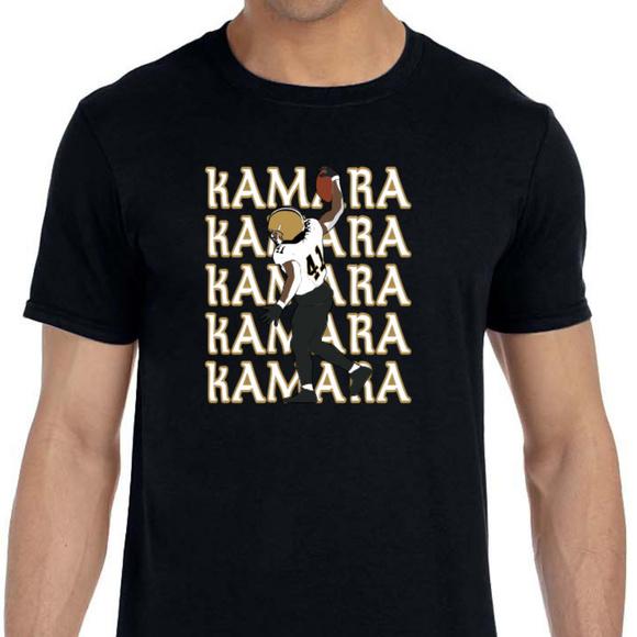 buy online 4a803 ac51d New Orleans Saints Alvin Kamara Shirt